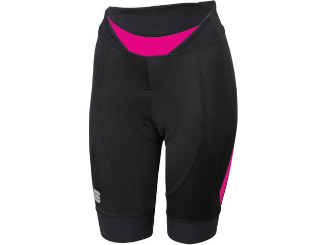 Sportful Neo Shorts Women black/bubble gum